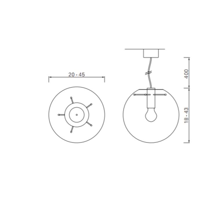 Selene 45 sandra lindner classicon selene45or luminaire lighting design signed 29203 product