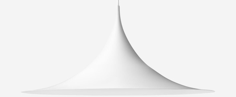 Suspension semi 47 blanc o47cm h23 5cm gubi normal