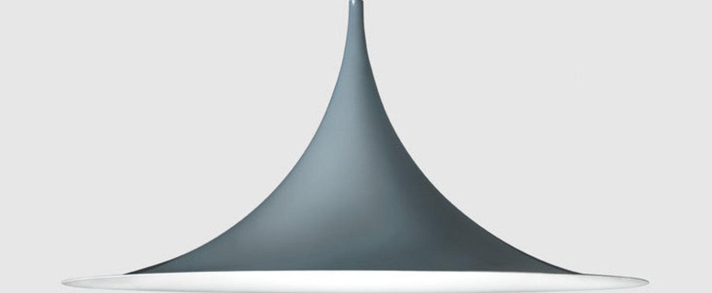 Suspension semi 47 gris anthracite o47cm h23 5cm gubi normal