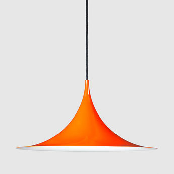Suspension semi 47 orange o47cm h23 5cm gubi normal