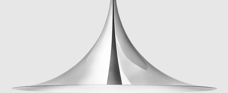 Suspension semi 60 chrome o60cm h30cm gubi normal