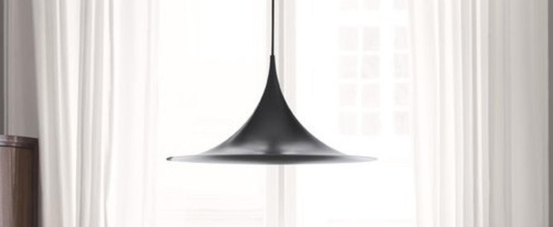 Suspension semi noir h15cm o30cm gubi normal