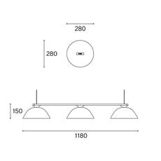 Sempe s3 inga sempe suspension pendant light  wastberg 103s39016  design signed nedgis 123443 thumb