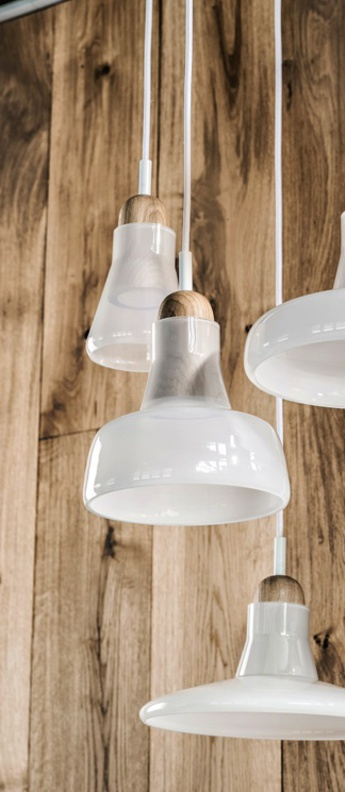 Suspension shadows blanc dimmable o18 6cm h17cm brokis normal