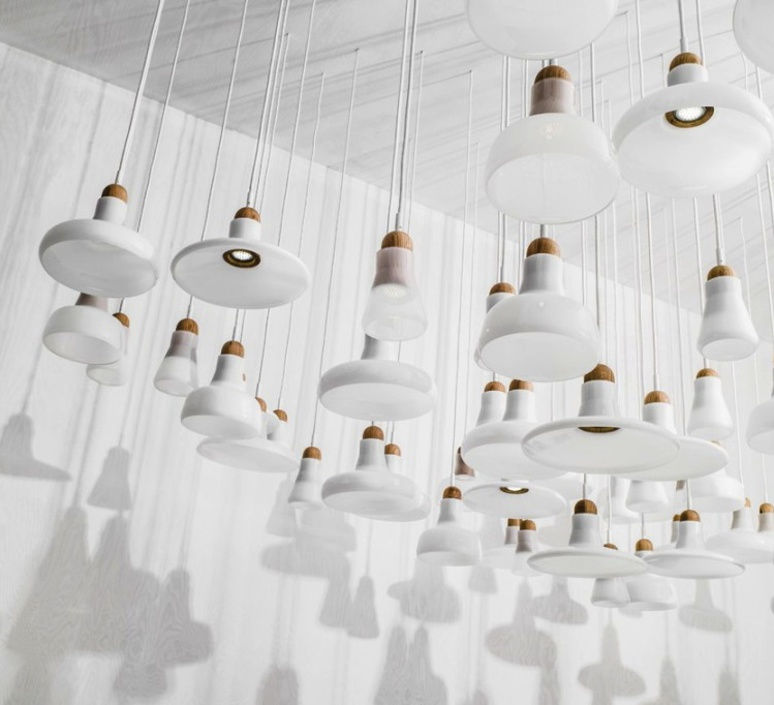 Shadows lucie koldova suspension pendant light  brokis pc894 cgc38 cgsu66 cecl521 ceb373 ccs657  design signed 34292 product