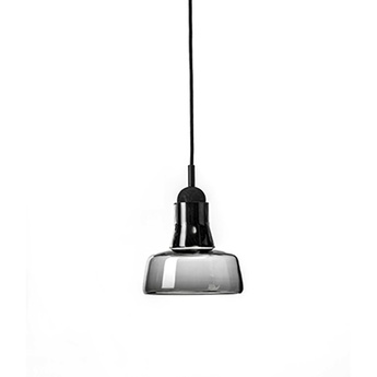Suspension shadows gris fume dimmable o18 6cm h17cm brokis normal