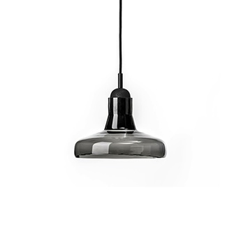 Suspension shadows gris fume dimmable o25cm h15 9cm brokis normal