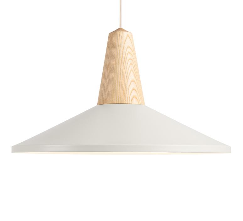 Shell blanc julia mulling et niklas jessen schneid shell white luminaire lighting design signed 106416 product