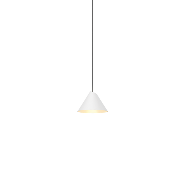 Pendant light, Shiek 1.0, LED, white, H11,7cm, Ø17cm ...