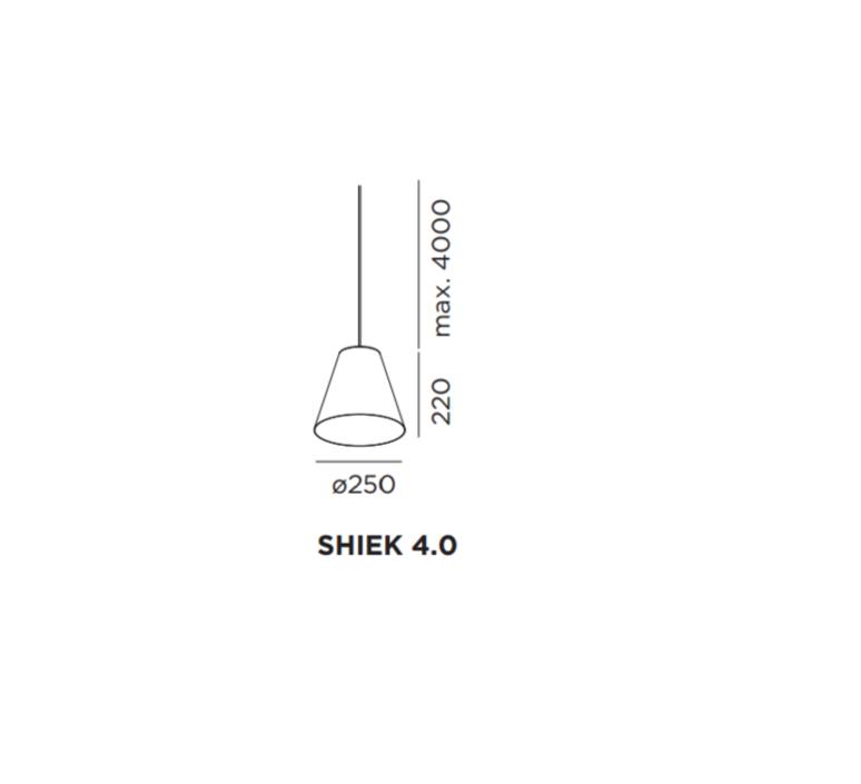 Shiek 4 0 copper studio wever ducre suspension pendant light  wever et ducre shiek4 0copper  design signed 32911 product