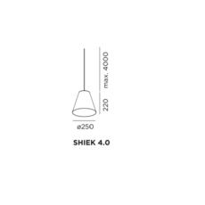 Shiek 4 0 copper studio wever ducre suspension pendant light  wever et ducre shiek4 0copper  design signed 32911 thumb