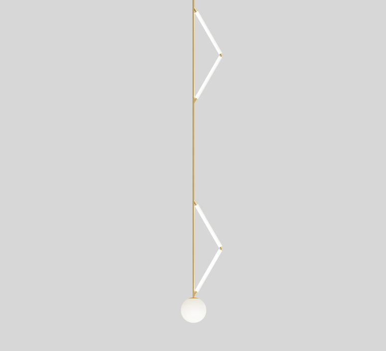 Side triangle gwendolyn et guillane kerschbaumer suspension pendant light  atelier areti 426ol p03 br01   design signed nedgis 73376 product