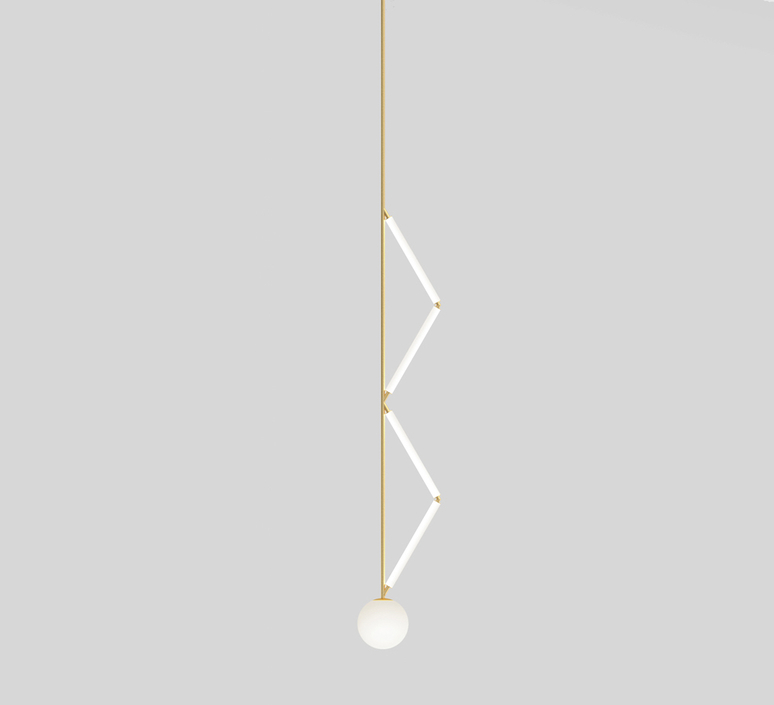 Side triangle gwendolyn et guillane kerschbaumer suspension pendant light  atelier areti 426ol p02 br01   design signed nedgis 73374 product