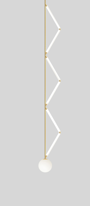 Suspension side triangle laiton l21 3cm h175cm atelier areti normal