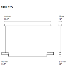Signal h970  suspension pendant light  cvl signal h970  design signed 53551 thumb