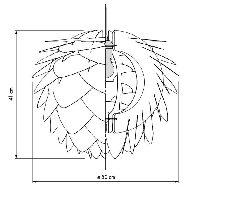 Silvia medium umage design studio suspension pendant light  umage 5710302020709  design signed 61140 product