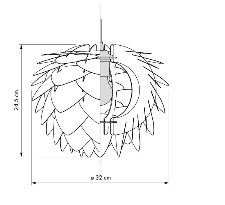 Silvia mini umage design studio suspension pendant light  umage 5710302020716  design signed 61137 product