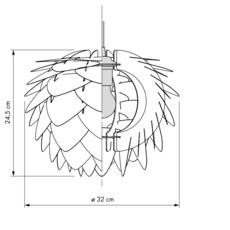 Silvia mini umage design studio suspension pendant light  umage 5710302020716  design signed 61137 thumb