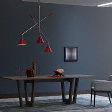 Sinatra studio delightfull delightfull suspension sinatra red luminaire lighting design signed 25658 thumb