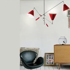 Sinatra studio delightfull delightfull suspension sinatra red luminaire lighting design signed 25659 thumb