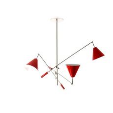 Sinatra studio delightfull delightfull suspension sinatra red luminaire lighting design signed 25661 thumb