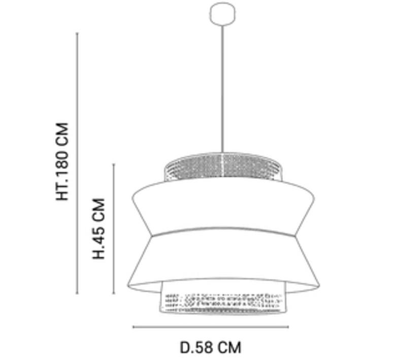 Singapour xl studio market set suspension pendant light  market set 655912  design signed nedgis 112493 product