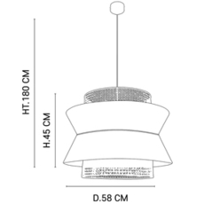 Singapour xl studio market set suspension pendant light  market set 655912  design signed nedgis 112493 thumb