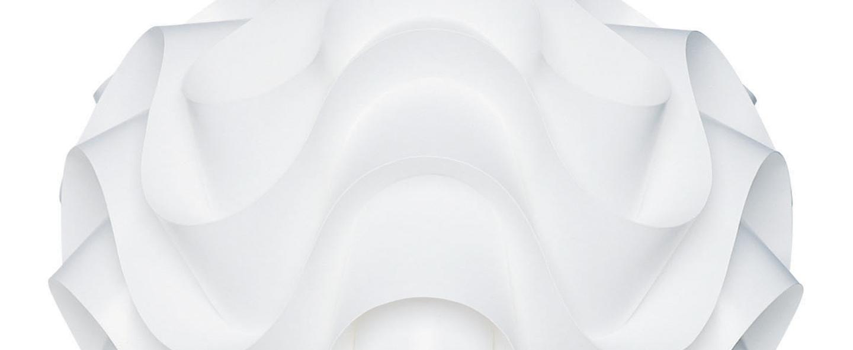 Suspension sinus large blanc o44cm h40cm le klint normal