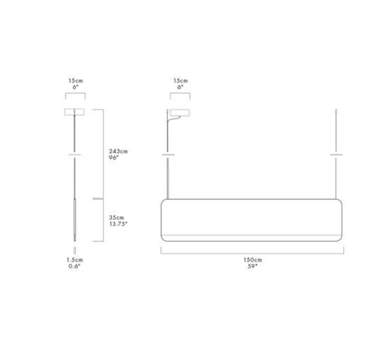 Slab 150 dali  lukas peet suspension pendant light  andlight sla 150 p gry 27 dal 230  design signed nedgis 90386 product