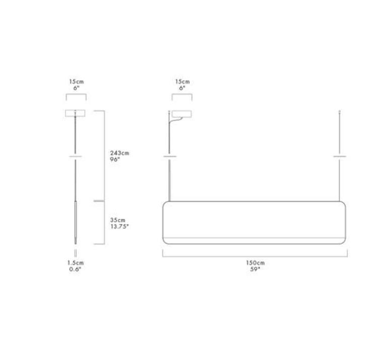 Slab 150 dali  lukas peet suspension pendant light  andlight sla 150 p gld 27 dal 230  design signed nedgis 90379 product