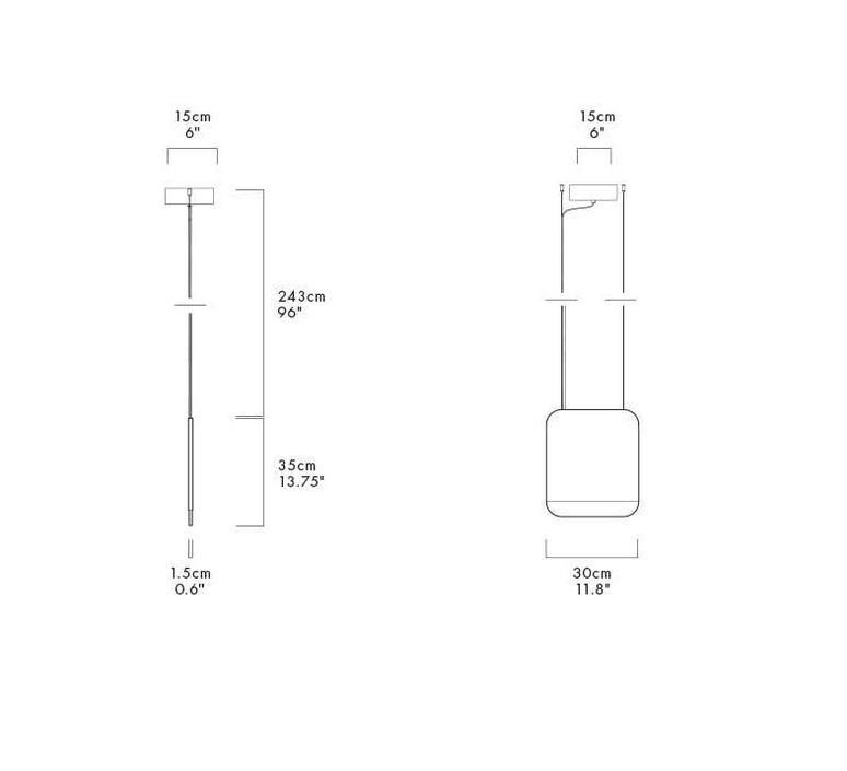 Slab 30 dali  lukas peet suspension pendant light  andlight sla 30 p gry 27 dal 230  design signed nedgis 90336 product