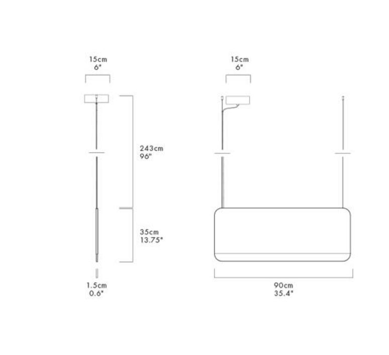 Slab 90 dali  lukas peet suspension pendant light  andlight sla 90 p gld 27 dal 230  design signed nedgis 90348 product