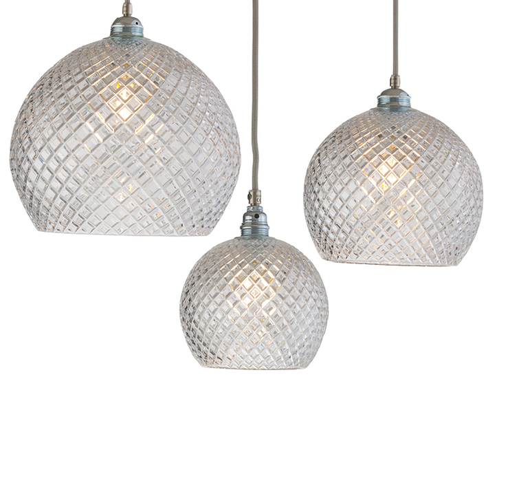 Small check crystal rowan 15 5 susanne nielsen suspension pendant light  ebb and flow la101521  design signed nedgis 72633 product
