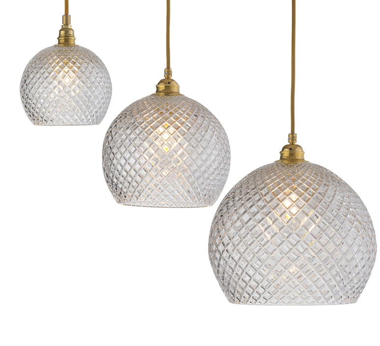Small check crystal rowan 15 5 susanne nielsen suspension pendant light  ebb and flow la101520  design signed nedgis 72624 product