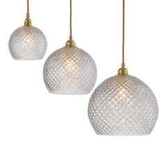 Small check crystal rowan 15 5 susanne nielsen suspension pendant light  ebb and flow la101520  design signed nedgis 72624 thumb