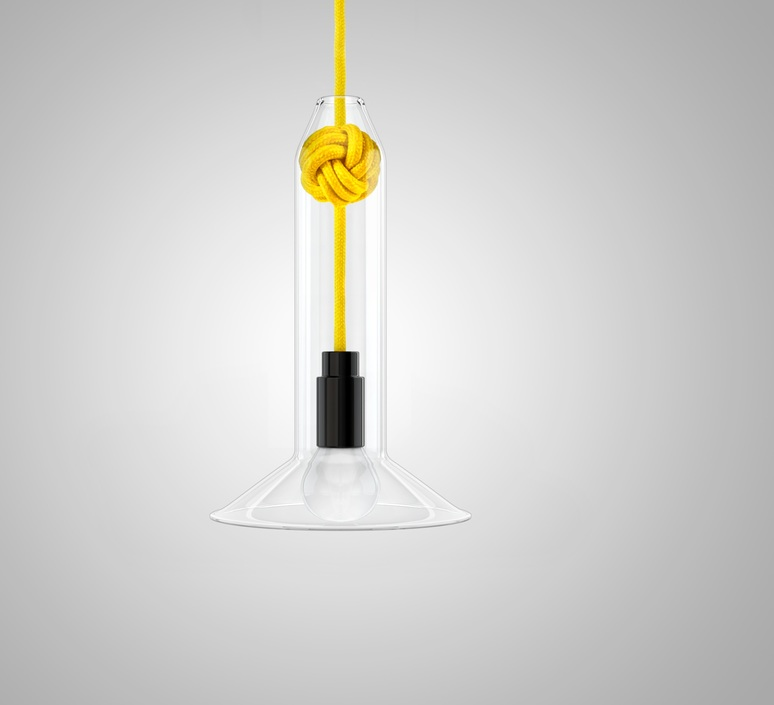 Small knot studio vitamin vitamin small knot yellow luminaire lighting design signed 16745 product