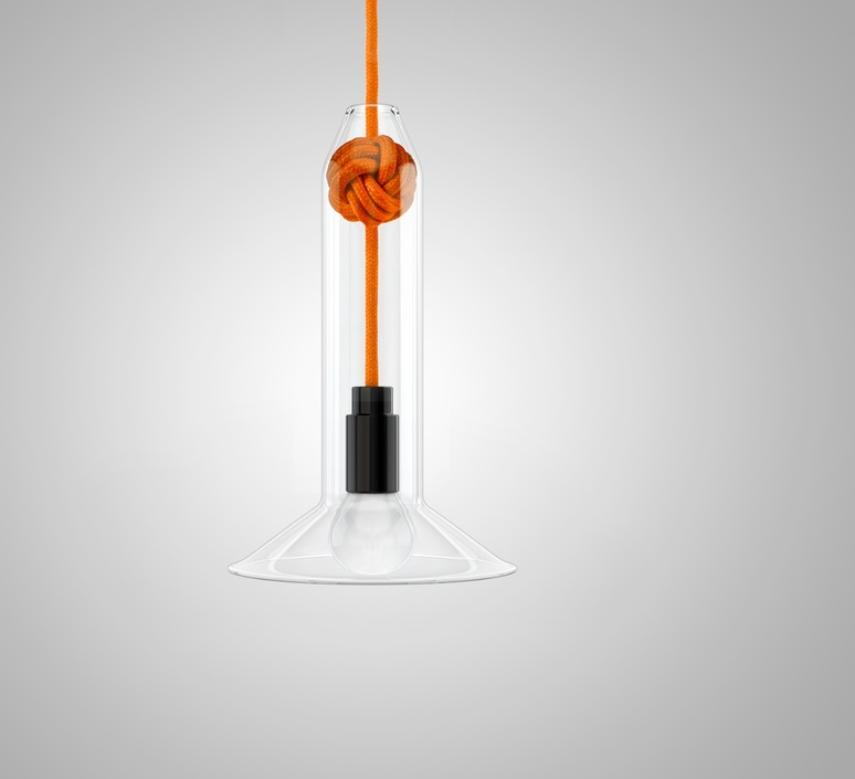Small knot studio vitamin vitamin small knot orange luminaire lighting design signed 16749 product
