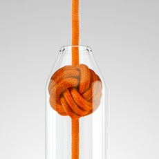 Small knot studio vitamin vitamin small knot orange luminaire lighting design signed 16750 thumb