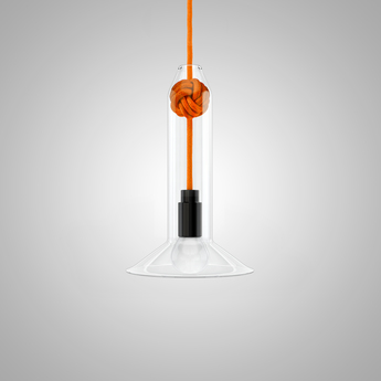 Suspension small knot orange h22 4cm vitamin normal
