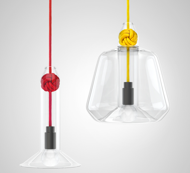 Small knot studio vitamin vitamin small knot red luminaire lighting design signed 16744 product