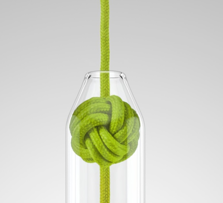 Small knot studio vitamin vitamin small knot green luminaire lighting design signed 16753 product