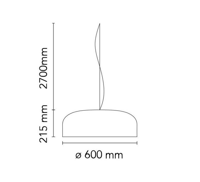 Smithfield jasper morrison suspension pendant light  flos f1371035  design signed nedgis 122926 product