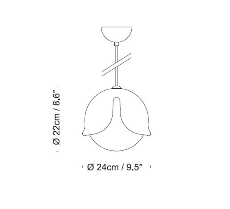 Snowdrop stone designs suspension pendant light  innermost ps06911028  design signed 49568 product