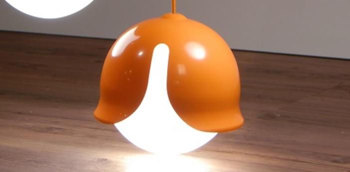Suspension snowdrop orange o24cm innermost normal