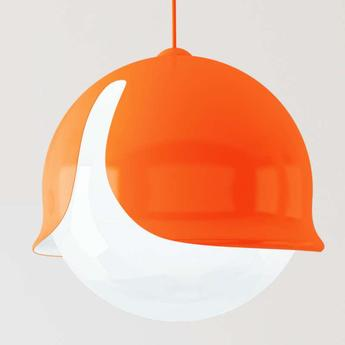 Suspension snowdrop orange o24cm innermost normal