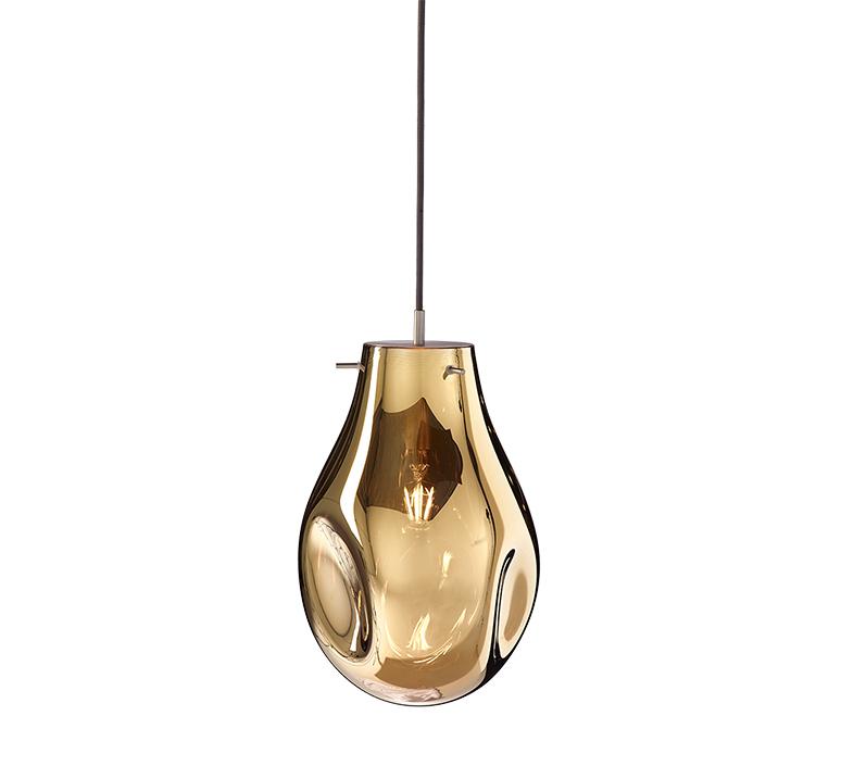 Soap large ota svoboda suspension pendant light  bomma soap large gold  design signed nedgis 115250 product