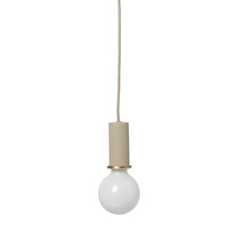 Suspension socket pendant cashmere o6cm h17cm ferm living normal