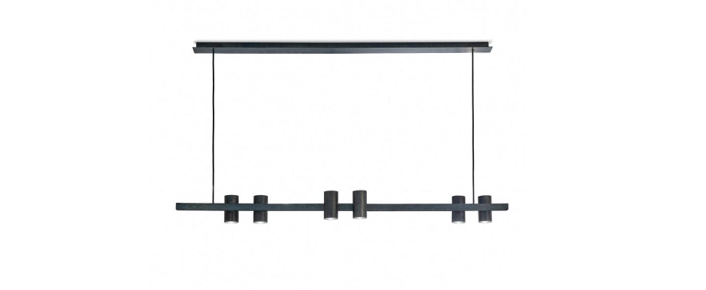 Suspension sofisticato 27 noir l140cm h12cm serax normal