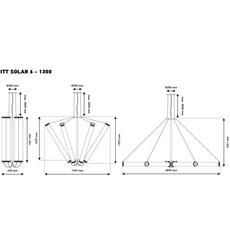 Solar 6 1300 silver mesh dominique perrault suspension pendant light  dcw solar 6 1300 silvmesh cop sil  design signed nedgis 73919 thumb