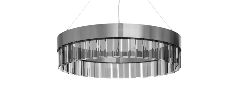 Suspension solaris 1100 acier o110cm h25cm cto lighting normal